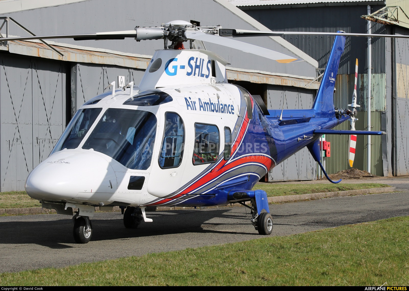 Sloane Helicopters G-SHLS aircraft at East Midlands