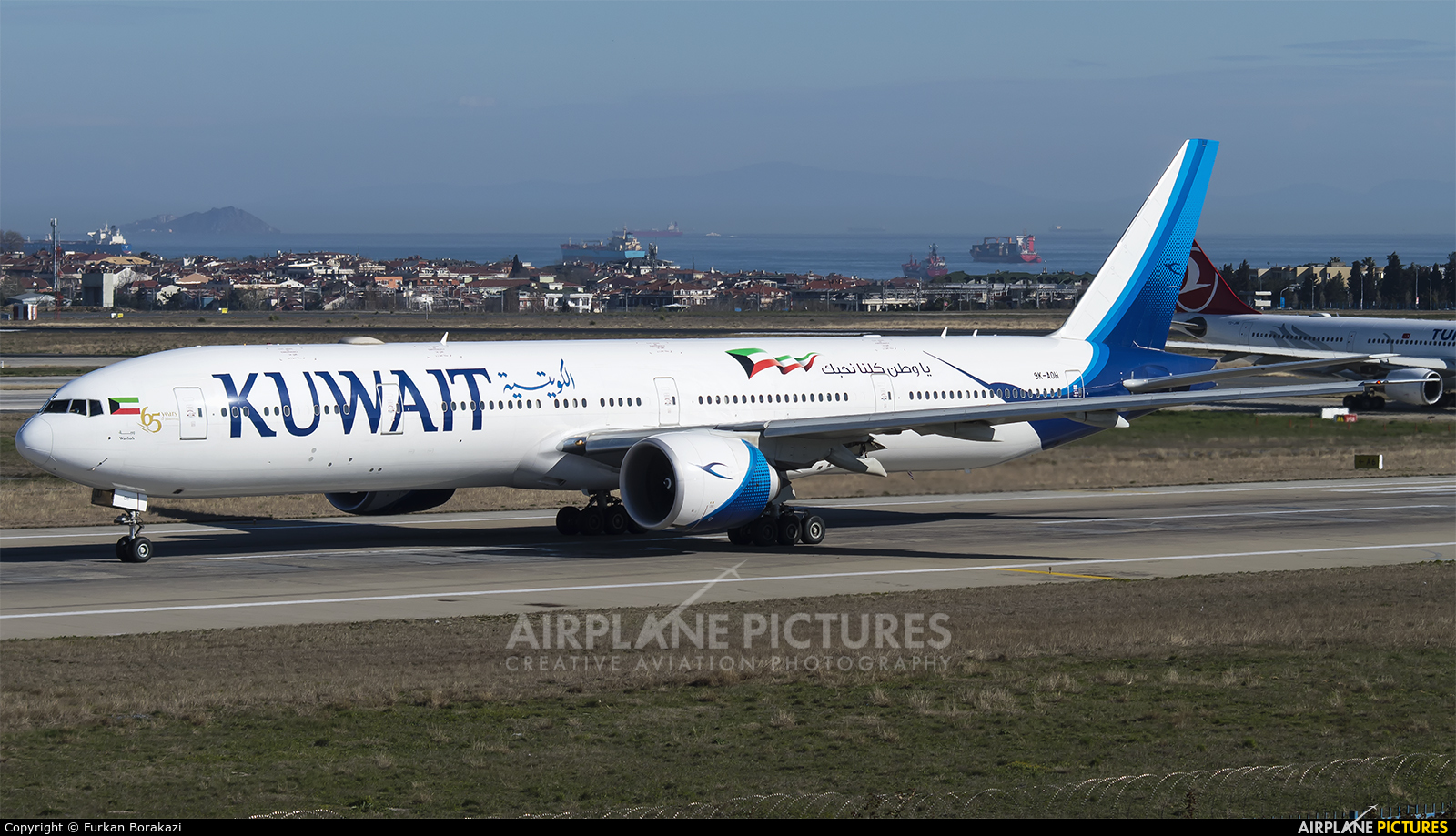 Kuwait Airways 9K-AOH aircraft at Istanbul - Ataturk