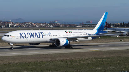 9K-AOH - Kuwait Airways Boeing 777-300ER