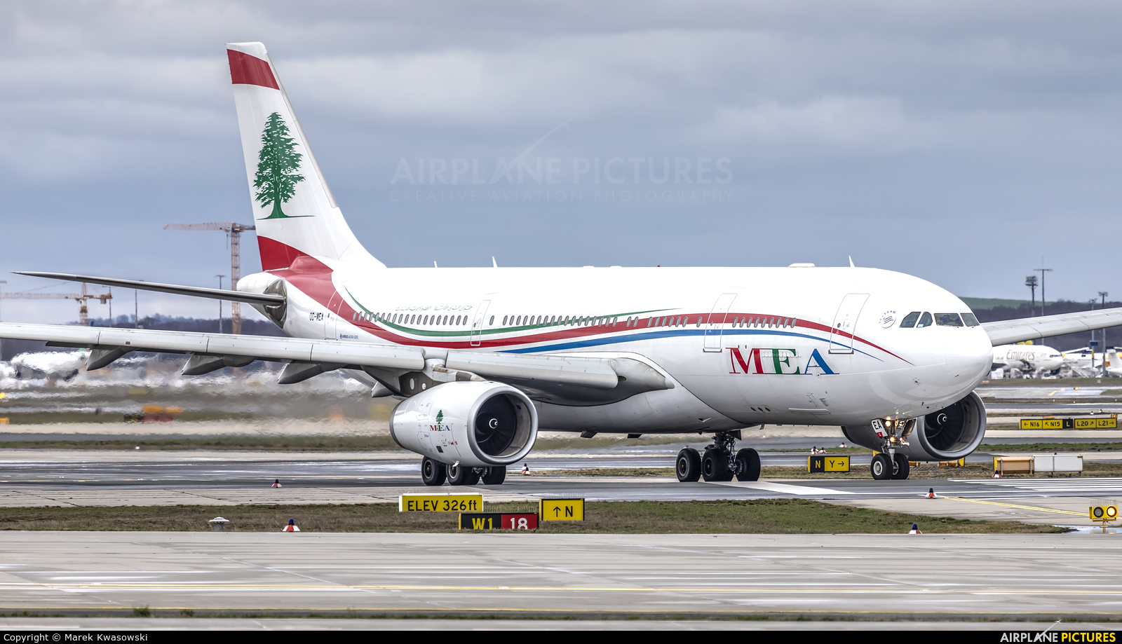 MEA - Middle East Airlines OD-MEA aircraft at Frankfurt