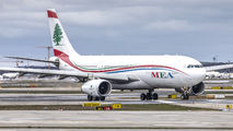 OD-MEA - MEA - Middle East Airlines Airbus A330-200 aircraft