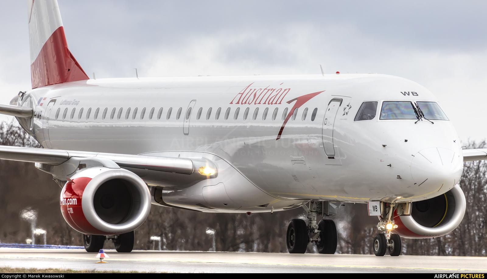 Austrian Airlines/Arrows/Tyrolean OE-LWB aircraft at Frankfurt