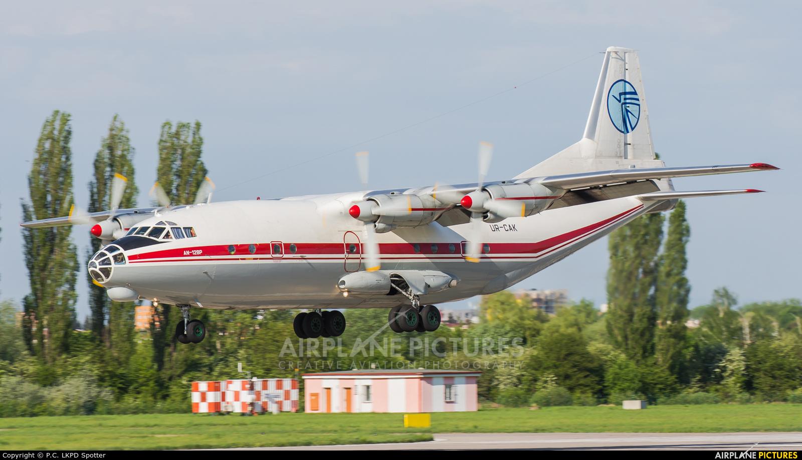 Ukraine Air Alliance UR-CAK aircraft at Pardubice