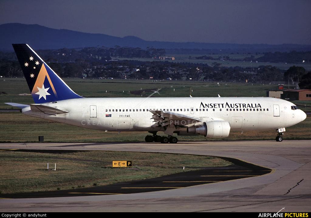 Ansett Australia VH-RME aircraft at Melbourne Intl, VIC
