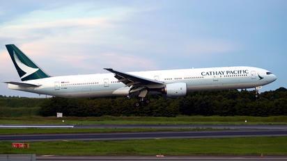 B-HNQ - Cathay Pacific Boeing 777-300