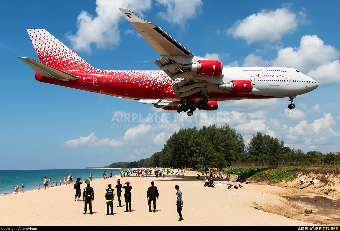 Rossiya EI-XLC aircraft at Phuket
