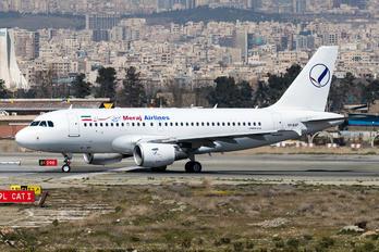 EP-SSP - Meraj Airlines Airbus A319