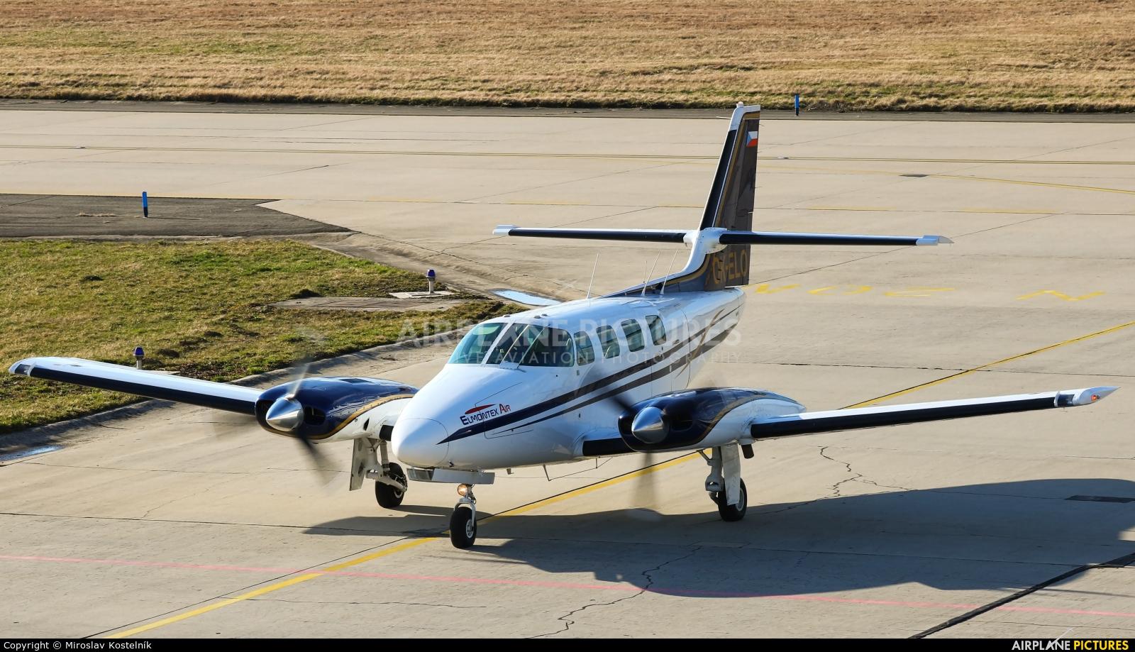 Elmontex Air OK-ELO aircraft at Ostrava Mošnov