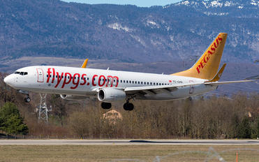 TC-CPD - Pegasus Boeing 737-800