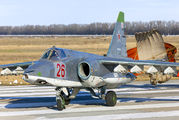 26 - Russia - Air Force Sukhoi Su-25SM aircraft