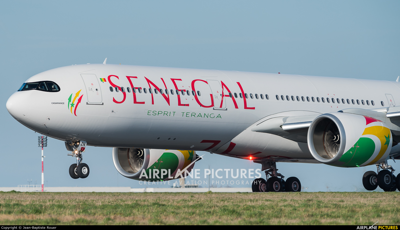 Air Senegal International 9H-SZN aircraft at Paris - Charles de Gaulle