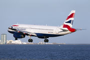 G-GATK - British Airways Airbus A320 aircraft