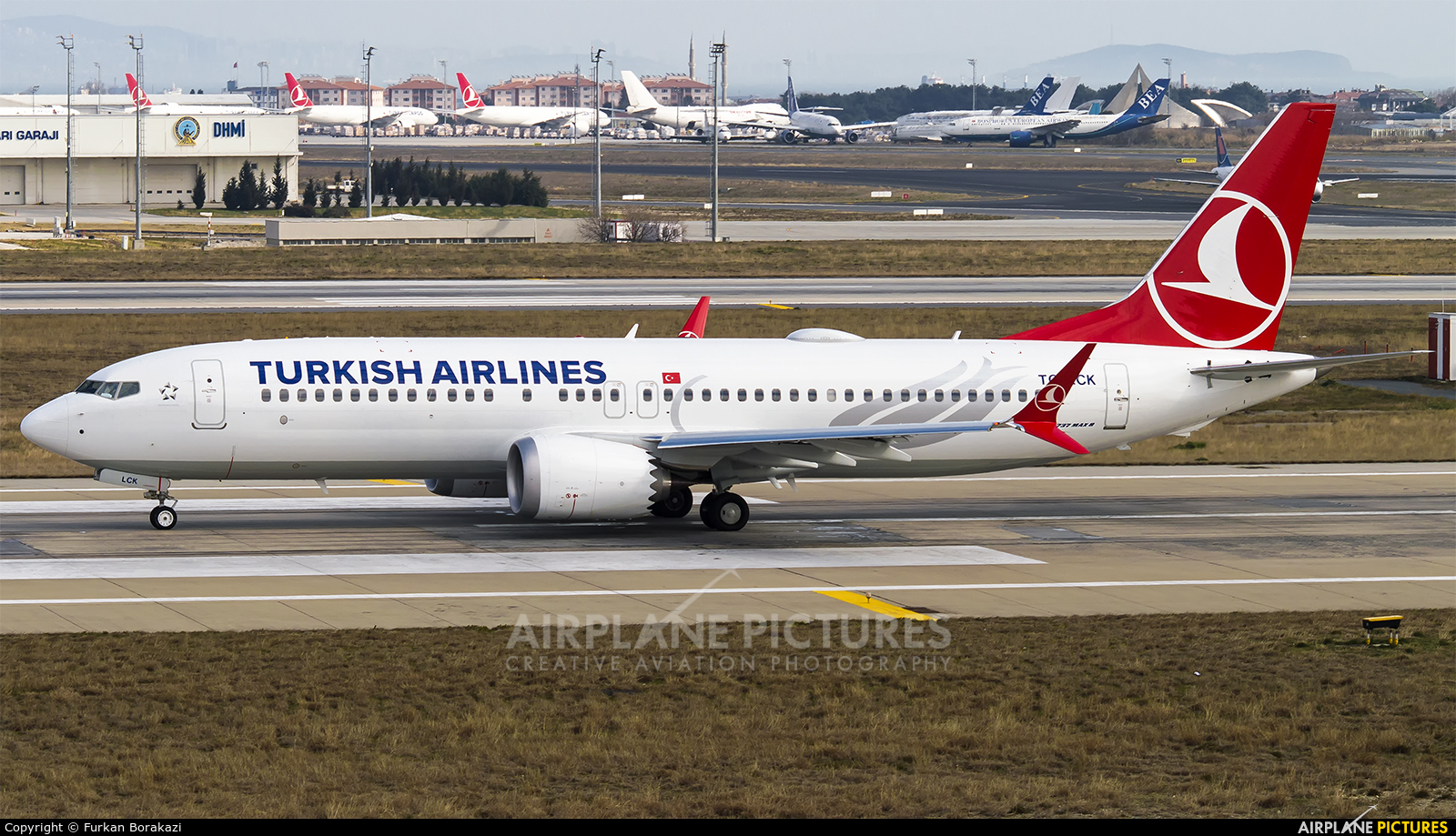 Turkish Airlines TC-LCK aircraft at Istanbul - Ataturk