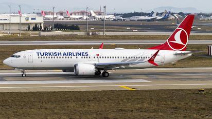 TC-LCK - Turkish Airlines Boeing 737-8 MAX