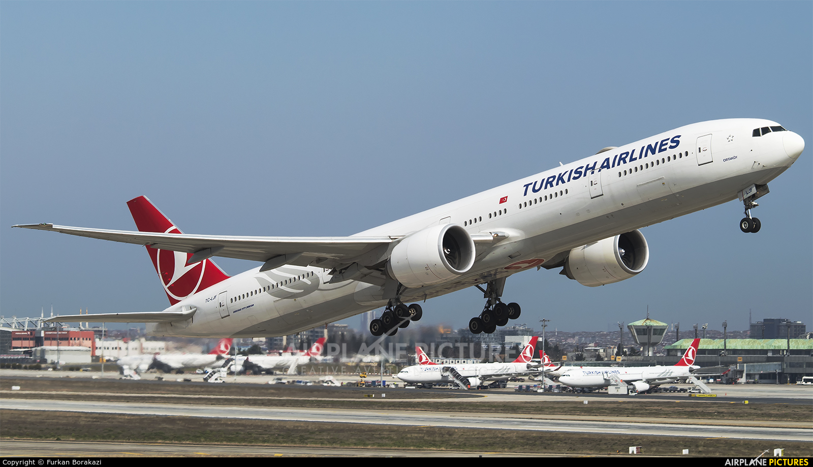 Turkish Airlines TC-LJF aircraft at Istanbul - Ataturk
