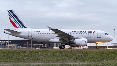 F-GRHM - Air France Airbus A319