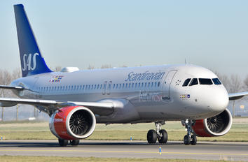 SE-DOY - SAS - Scandinavian Airlines Airbus A320 NEO