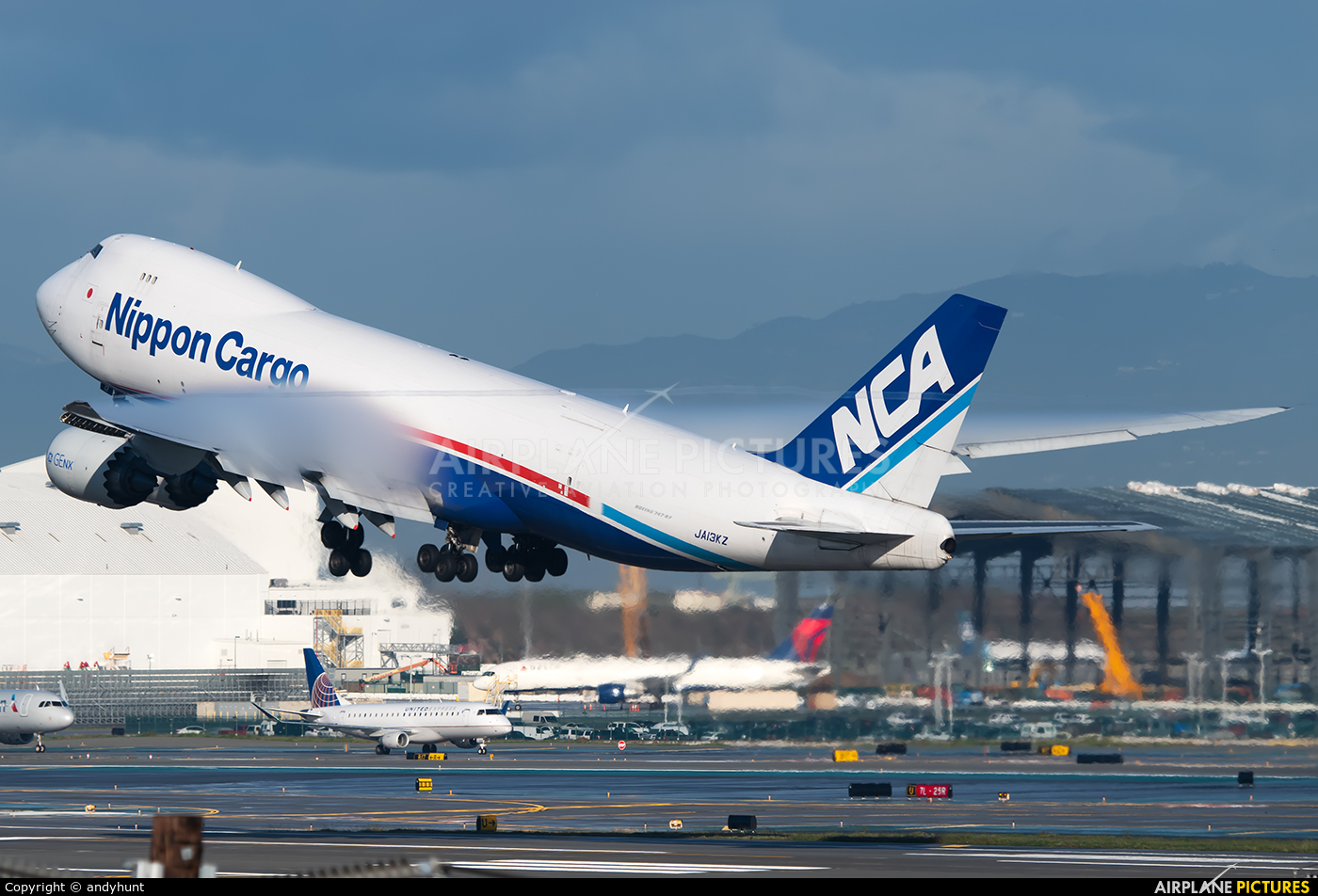 Nippon Cargo Airlines JA13KZ aircraft at Los Angeles Intl