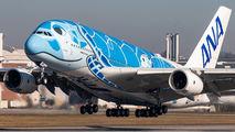 F-WWSH - ANA - All Nippon Airways Airbus A380 aircraft
