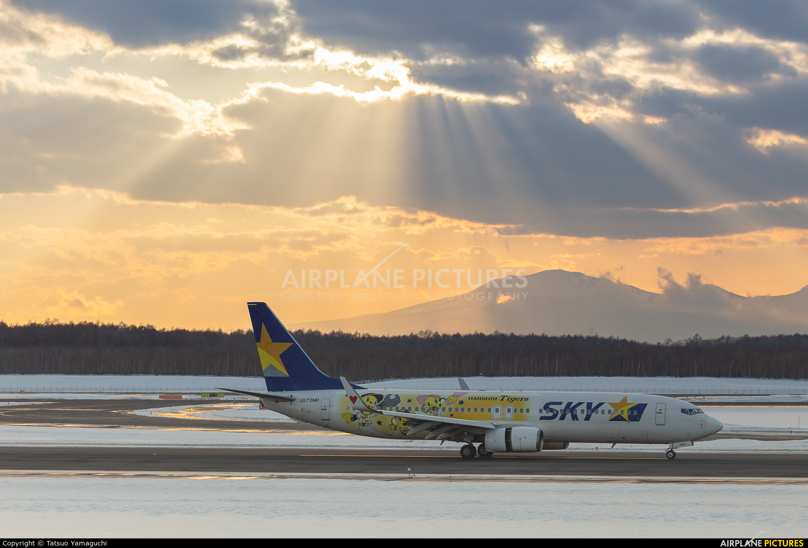 Skymark Airlines JA73NR aircraft at New Chitose