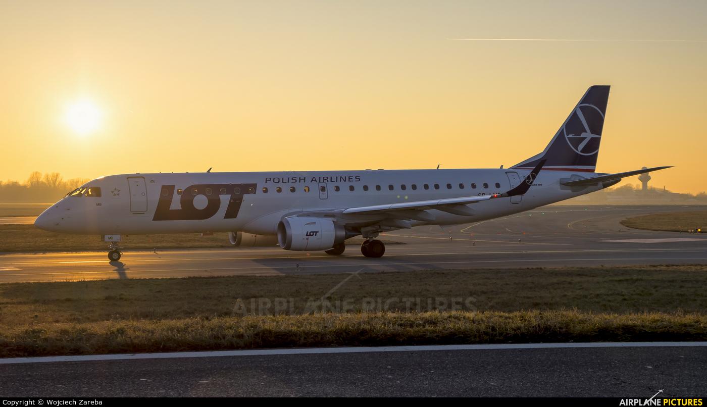 LOT - Polish Airlines SP-LMB aircraft at Warsaw - Frederic Chopin