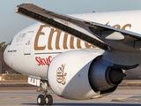 A6-EFS - Emirates Sky Cargo Boeing 777F aircraft