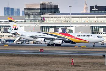 OO-ABA - Air Belgium Airbus A340-300
