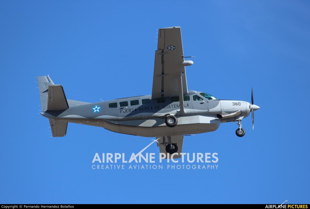 Guatemala - Air Force 360 aircraft at San Jose - Juan Santamaría Intl