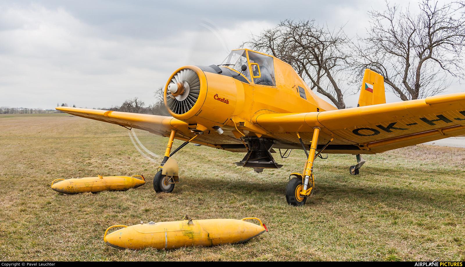 Agroair OK-HJK aircraft at Off Airport - Czech Republic