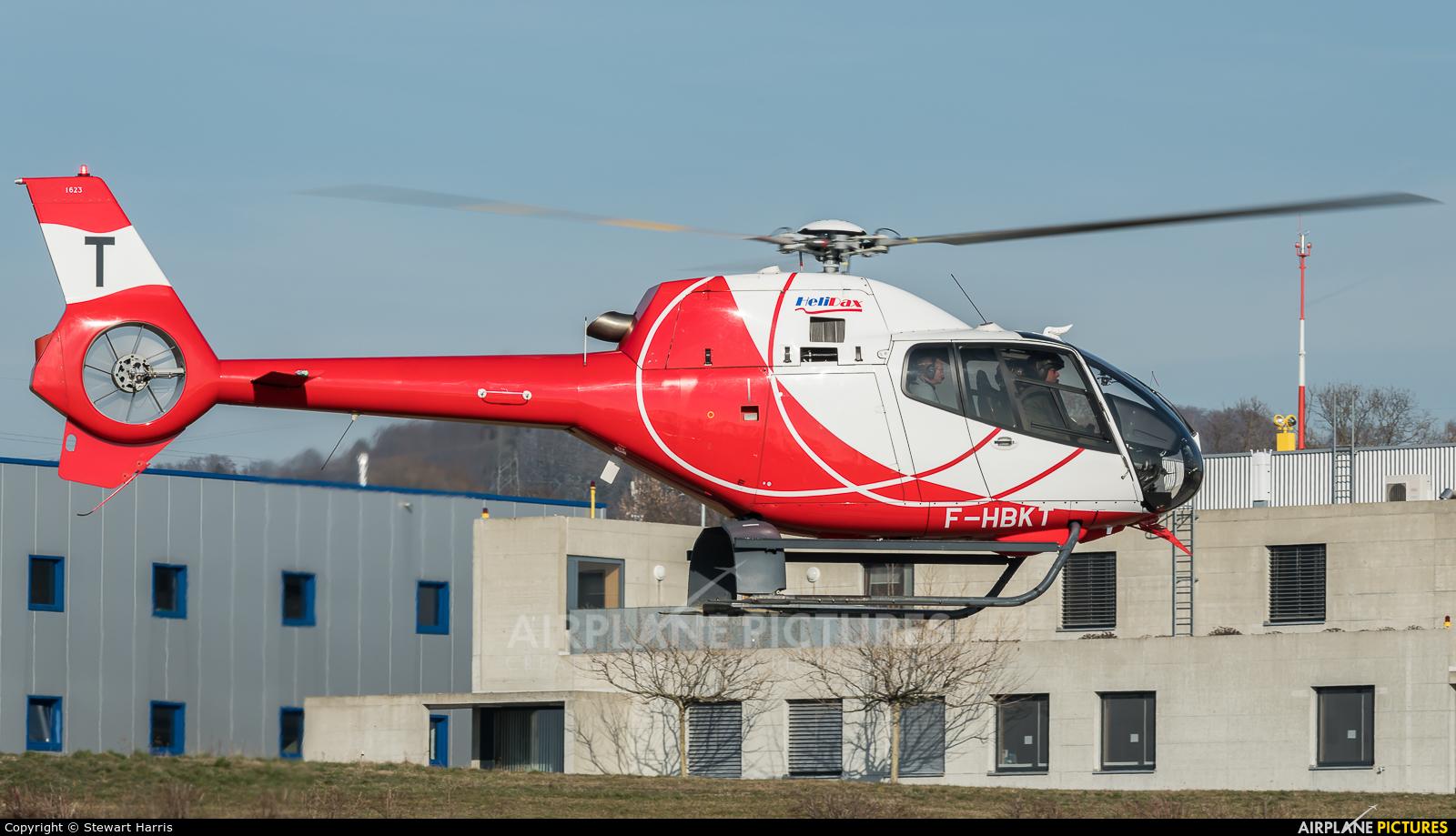 Private F-HBKT aircraft at Lausanne - La Blécherette