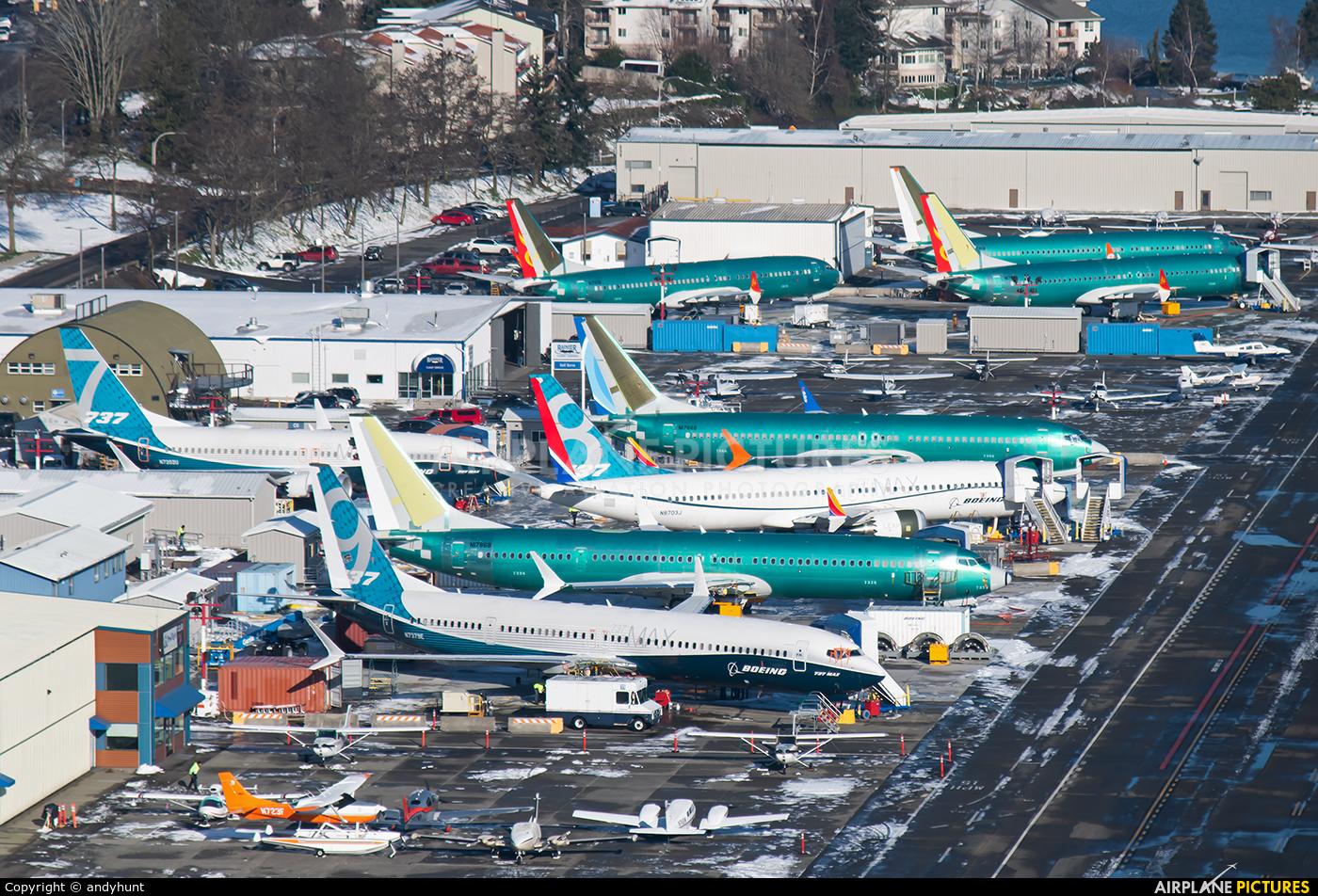Boeing Company N7379E aircraft at Renton Municipal
