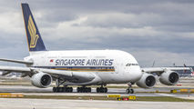 9V-SKP - Singapore Airlines Airbus A380 aircraft