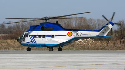 109 - Romania - Air Force Aerospatiale AS332 Super Puma