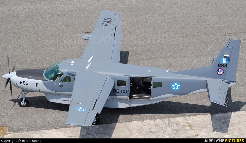 Guatemala - Air Force 889 aircraft at Guatemala - La Aurora