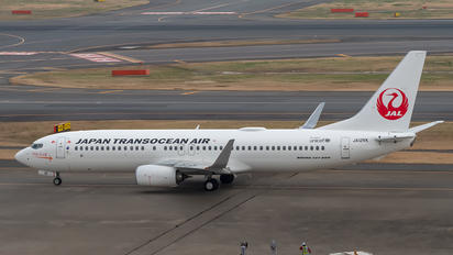 JA12RK - JAL - Japan Transocean Air Boeing 737-800