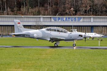 HB-HXD - Jordan - Air Force Pilatus PC-21