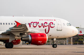 C-FYKW - Air Canada Rouge Airbus A319