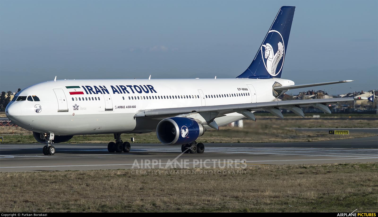 Iran Air Tours EP-MNN aircraft at Istanbul - Ataturk