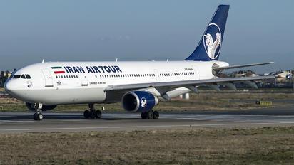 EP-MNN - Iran Air Tours Airbus A300F4-605R