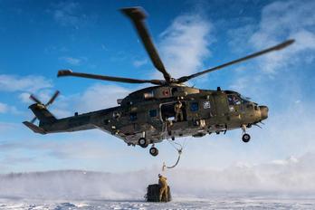 ZK001 - Royal Navy Agusta Westland AW101 411 Merlin HC.3