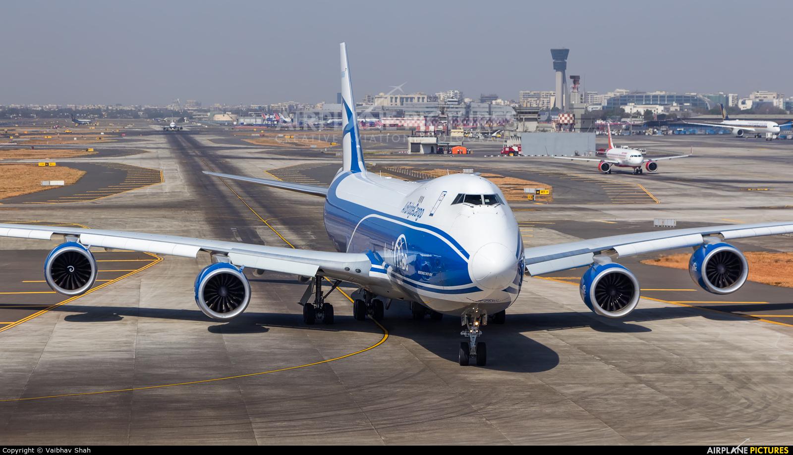 Air Bridge Cargo VQ-BFE aircraft at Mumbai - Chhatrapati Shivaji Intl