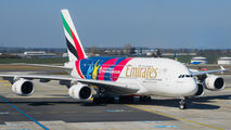 A6-EOH - Emirates Airlines Airbus A380 aircraft