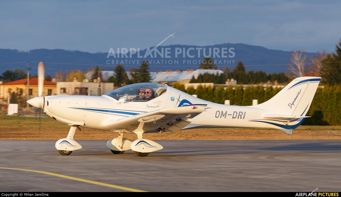 Private OM-DRI aircraft at Prievidza