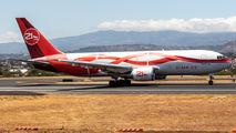 Rare visit of 21Air Boeing 767-200 to San Jose title=