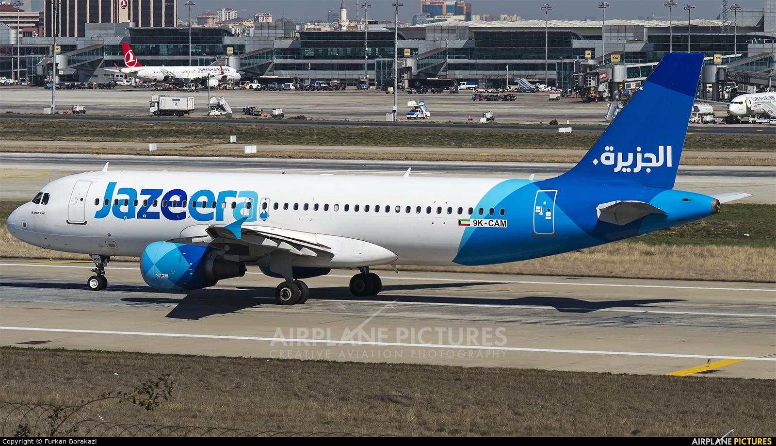 Jazeera Airways 9K-CAM aircraft at Istanbul - Ataturk