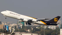 N607UP - UPS - United Parcel Service Boeing 747-8F aircraft