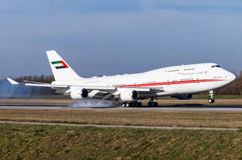 A6-DAW - United Arab Emirates - Government Boeing 747-400