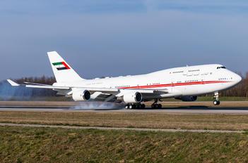 A6-DAW - United Arab Emirates - Government Boeing 747-400