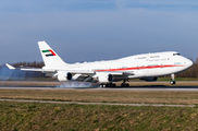 A6-DAW - United Arab Emirates - Government Boeing 747-400 aircraft