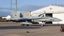 C.15-80 - Spain - Air Force McDonnell Douglas F/A-18A Hornet aircraft
